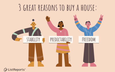 3 Good Reasons to Buy a Home