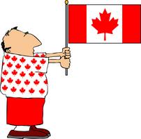 CANADA DAY IN VICTORIA, B.C.