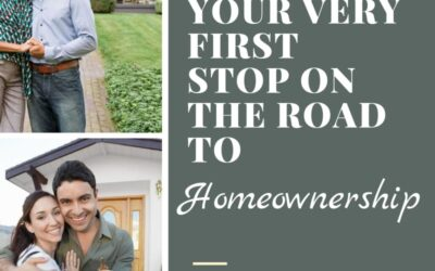 This is the Very First Step to Homeownership