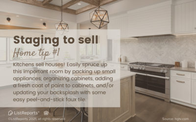 Staging to Sell Sprucing up Your Kitchen